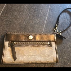 Coach Bags - Authentic COACH wristlet wallet